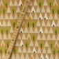 Preview: Bio Jersey STOFFONKEL Triangle Tipi beige