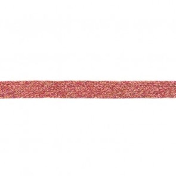 Flache Kordel Multicolor 20 mm fuchsia-choco